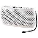 オーム電機 RCR-90Z-W(ホワイト) AudioComm ポータブルCD MP3 ラジオ ワイドFM対応