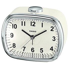 CASIO TQ-159-7JF(クリーム) 目覚まし時計