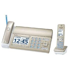 パナソニック KX-PZ720DL-N(シャンパンゴールド) おたっくす デジタルコードレス普通紙ファクス 子機1台