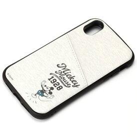 PGA PG-DCS694MKY(ミッキーマウス グレー) iPhone XR用 タフポケットケース Disney