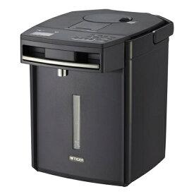 タイガー魔法瓶 PIM-G220-K(ブラック) とく子さん 蒸気レスVE電気まほうびん 2.2L