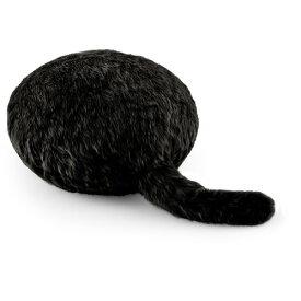 ユカイ工学 Qoobo Silky Black YE-QB001K