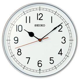 セイコー KX253W 電波掛時計 スタンダード