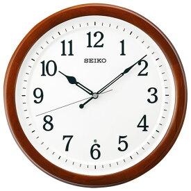 セイコー KX254B 電波掛時計 スタンダード