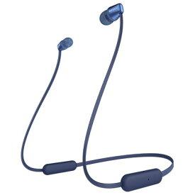 ソニー WI-C310(L) (ブルー) ワイヤレスステレオヘッドセット