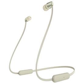 ソニー WI-C310(N) (ゴールド) ワイヤレスステレオヘッドセット