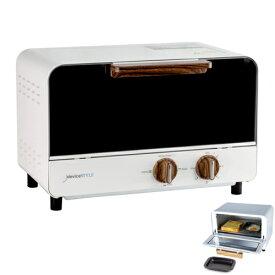 デバイスタイル DTA-11-W(ホワイト) シックでエレガントなオーブントースター 1000W