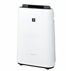 【長期保証付】シャープ KC-N500Y-W(ホワイト系) 加湿空気清浄機 プラズマクラスター7000 空気清浄23畳/加湿15畳