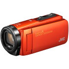 JVC GZ-RX690-D(オレンジ) Everio R(エブリオR) ハイビジョンメモリームービー 防水モデル 64GB