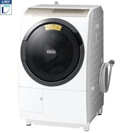 【標準設置料金込】【送料無料】日立 HITACHI BD-SX110FL-N(ロゼシャンパン) ドラム式洗濯乾燥機 左開き 洗濯11kg/乾燥6kg BDSX110FLN[代引・リボ・分割・ボーナス払い不可]