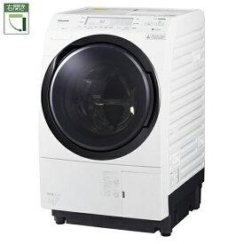 【標準設置料金込】【送料無料】パナソニック NA-VX700BR-W(クリスタルホワイト) ななめドラム洗濯乾燥機 右開き 洗濯10kg/乾燥6kg[代引・リボ・分割・ボーナス払い不可]
