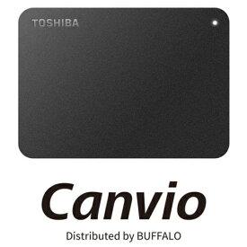 バッファロー HD-TPA2U3-B 東芝製Canvio USB 3.0対応ポータブルHDD 2TB