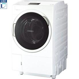 【標準設置料金込】【送料無料】東芝 TOSHIBA TW-127X9L-W(グランホワイト) ZABOON ドラム式洗濯乾燥機 左開き 洗濯12kg/乾 TW127X9LW[代引・リボ・分割・ボーナス払い不可]