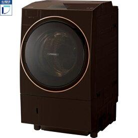 【標準設置料金込】【送料無料】東芝 TOSHIBA TW-127X9L-T(グレインブラウン) ZABOON ドラム式洗濯乾燥機 左開き 洗濯12kg/ TW127X9LT[代引・リボ・分割・ボーナス払い不可]