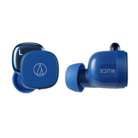 オーディオテクニカ ATH-SQ1TW BL(ブルー) ワイヤレスイヤホン