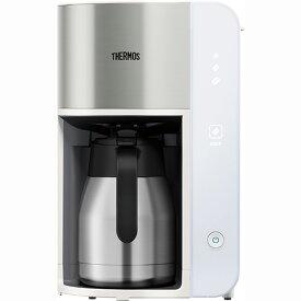 サーモス ECK-1000-WH(ホワイト) 真空断熱ポットコーヒーメーカー 1L