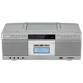 東芝 TY-AK2(S) (シルバー) Aurex CDラジオカセットレコーダー Bluetooth/ワイドFM対応