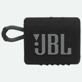 JBL JBL GO3 BLK(ブラック) Bluetooth対応 ポータブルウォータープルーフスピーカー