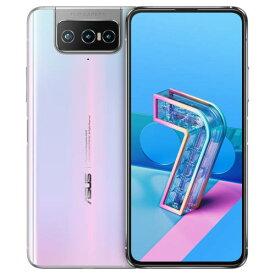 ASUS Zenfone 7(パステルホワイト) 8GB/128GB SIMフリー ZS670KS-WH128S8