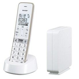 シャープ JD-SF2CL-W 電話線すっきりモデル 電話機 1台タイプ