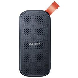 SanDisk SDSSDE30-480G-J25 ポータブルSSD 480GB