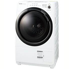 【標準設置料金込】【送料無料】シャープ SHARP ES-S7F-WL(ess7f) ドラム式洗濯乾燥機 左開き 洗濯7kg/乾燥3.5kg ESS7FWL[代引・リボ・分割・ボーナス払い不可]