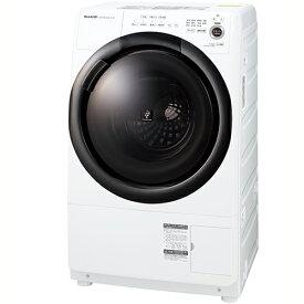 【標準設置料金込】【送料無料】シャープ SHARP ES-S7F-WR(ess7f) ドラム式洗濯乾燥機 右開き 洗濯7kg/乾燥3.5kg ESS7FWR[代引・リボ・分割・ボーナス払い不可]