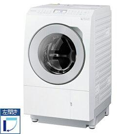 【標準設置料金込】【送料無料】【10000円キャッシュバック!〜2021/10/31】 パナソニック Panasonic NA-LX127AL-W(マットホワイト) ななめドラム洗濯乾燥機 左開き 洗濯12kg/乾燥6kgNALX127ALW[代引・リボ・分割・ボーナス払い不可]