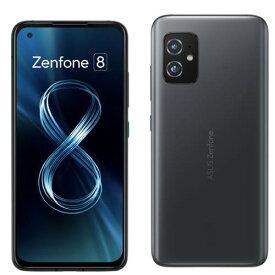 ASUS Zenfone 8(オブシディアンブラック) 5.9型 8GB/128GB SIMフリー ZS590KS-BK128S8