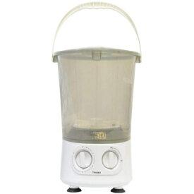 サンコー SBTMNWMB お湯が使えるコンパクト洗濯機 バケツランドリー