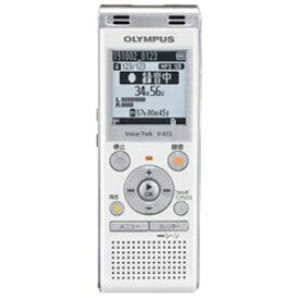 オリンパス V-872 WHT(ホワイト) ICレコーダー Voice-Trek(ボイストレック) 4GB