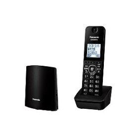 パナソニック VE-GZL40DL-K(ブラック) コードレス電話機 RU・RU・RU 子機1台付き