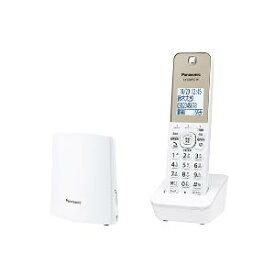 パナソニック VE-GZL40DL-W(ホワイト) コードレス電話機 RU・RU・RU 子機1台付き