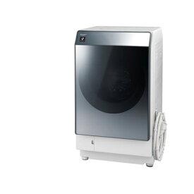 【標準設置料金込】【送料無料】シャープ ES-W112-SR(シルバー) ドラム式洗濯乾燥機 右開き 洗濯11kg/乾燥6kg[代引・リボ・分割・ボーナス払い不可]