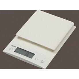 タニタ デジタルクッキングスケール KD-320-WH(ホワイト)