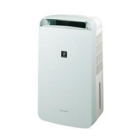 シャープ CM-L100-W コンプレッサー冷風・衣類乾燥除湿機 コンパクトクール 木造11畳/鉄筋23畳