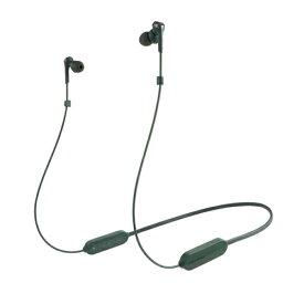 オーディオテクニカ ATH-CKS330XBT GR(グリーン) SOLID BASS ワイヤレスヘッドホン