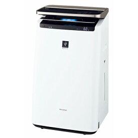 シャープ KI-NP100-W(ホワイト系) 加湿空気清浄機 プラズマクラスターNEXT 空気清浄〜46畳/加湿〜26畳