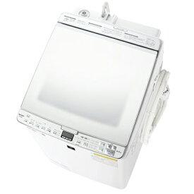 【標準設置料金込】【送料無料】シャープ SHARP ES-PX8E-W(ホワイト系) タテ型洗濯乾燥機 上開き 洗濯8kg/乾燥4.5kg ESPX8EW[代引・リボ・分割・ボーナス払い不可]