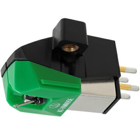 オーディオテクニカ AT-VM95E VM型(デュアルムービングマグネット) ステレオカートリッジ グリーン