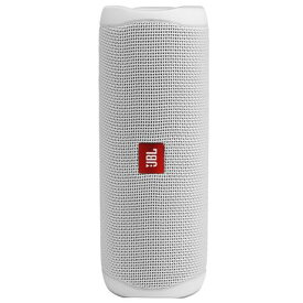 JBL JBL FLIP 5(ホワイト) ポータブル ウォータープルーフ スピーカー Bluetooth接続