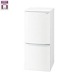 シャープ SJ-D14F-W(ホワイト系) 2ドア冷蔵庫 左右付替タイプ 137L