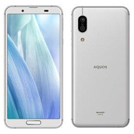 シャープ AQUOS sense3 SH-M12(シルバーホワイト) 4GB/64GB SIMフリー