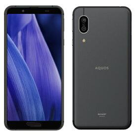 シャープ AQUOS sense3 SH-M12(ブラック) 4GB/64GB SIMフリー
