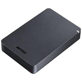 バッファロー HD-PGF5.0U3-GBKA(ブラック) ポータブルHDD 5TB USB3.1(Gen1) /3.0/2.0接続 耐衝撃