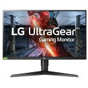 LGエレクトロニクス 27GL83A-B 27型 WQHDゲーミングディスプレイ HDR10 1ms/144Hz対応 Ultra Gear
