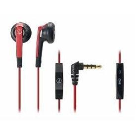 オーディオテクニカ ATH-C505i-RD(レッド) iPod/iPhone/iPad用インナーイヤーヘッドホン