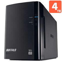 バッファロー HD-WL4TU3/R1J 外付HDD 4TB USB3.0接続 RAID対応 2ドライブ