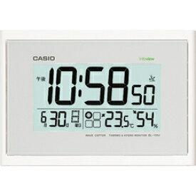 2bafca4a1c CASIO IDL-100J-7JF 温湿度計付き電波壁掛け時計 IDL100J7JFポータブル 熱中