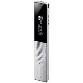 【長期保証付】ソニー ICD-TX650-S(シルバー) ステレオICレコーダー 16GB